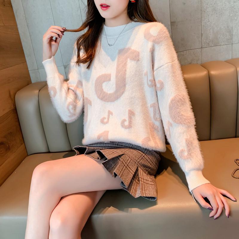 Мягкий женский свитер на зиму 42-46 (в расцветках)