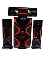 Комплект акустики 3.1 DJACK E-1503L 60 Вт USB FM-радио Bluetooth 60W акустическая система для дома, фото 1