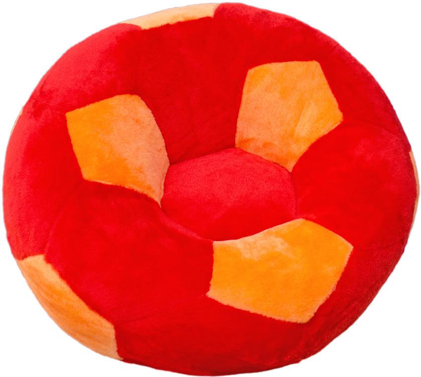 """Детское Кресло """"Мяч"""" от ТМ""""Золушка"""" (78см) большое, красно-оранжевое"""