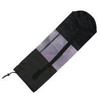Чехол для коврика сетка чёрный