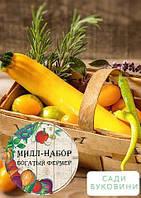 Мидл-набор овощей 'Желтая грядка' 'Богатый фермер' (в коробке) ТМ 'Весна' 30уп