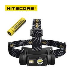 Ліхтар налобний Nitecore HC65 1000LM + Батарея