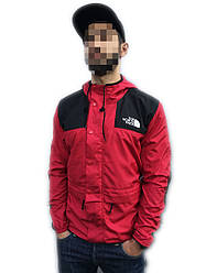 Куртка ветровка The North Face 1985 Seasonal (ориг.бирка) красный с черным