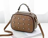 Модная женская сумочка с пуговицами, фото 2