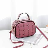 Модная женская сумочка с пуговицами, фото 4