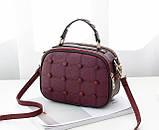 Модная женская сумочка с пуговицами, фото 5