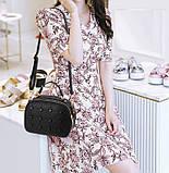 Модная женская сумочка с пуговицами, фото 9