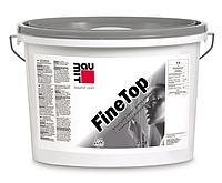 """Декоративная штукатурная силиконовая смесь (1.0K) """"барашек"""" Baumit FineTop, 25 кг"""