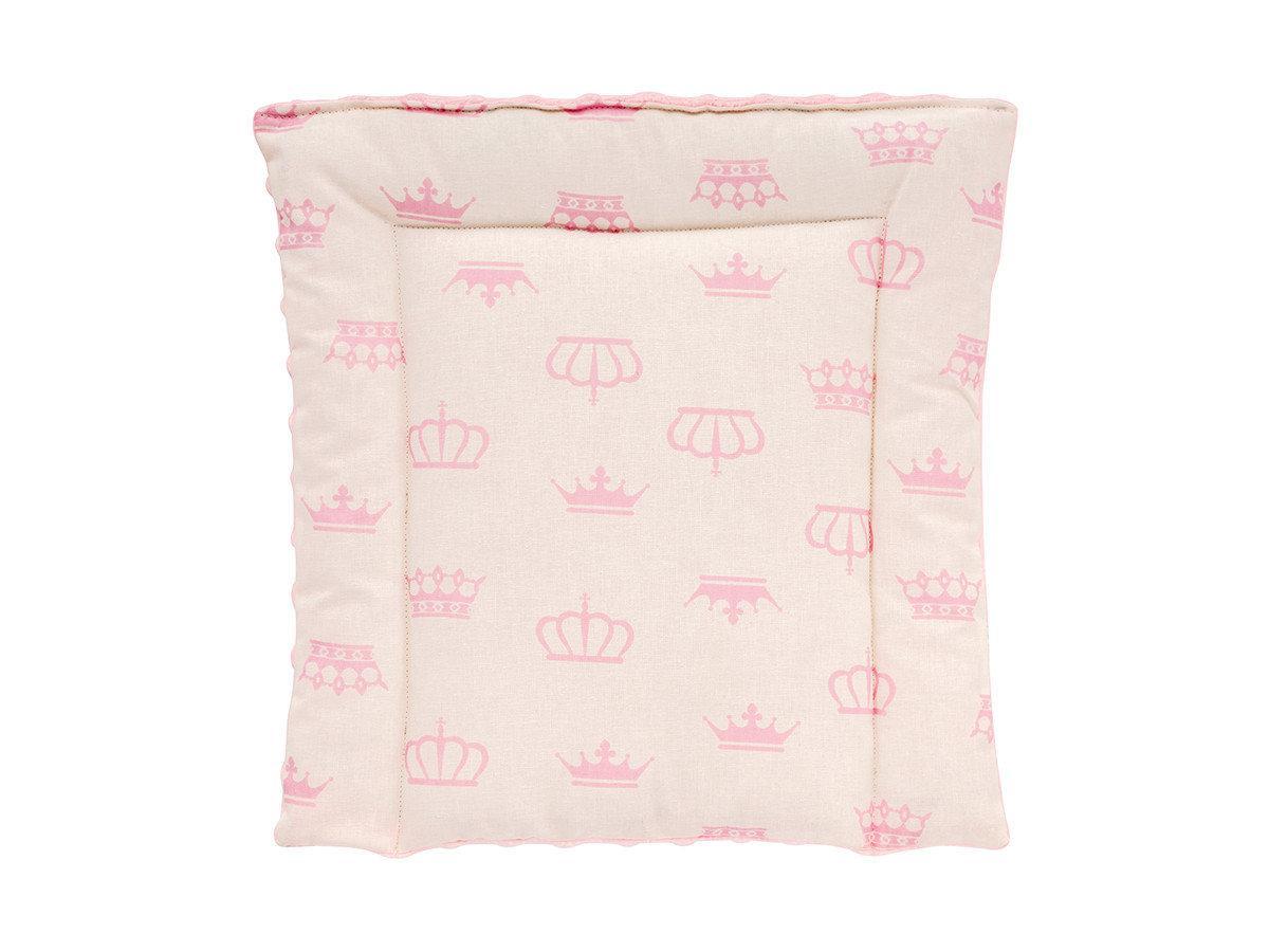 Подушка плюшевая детская розовая 35х35 см Minky
