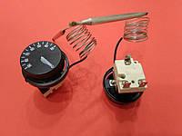 Термостат терморегулятор капиллярный 30℃ - 90℃ на трех контактах, 16А КИТАЙ