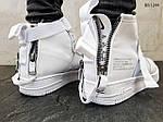 Мужские кроссовки Nike SF Air Force 1 Mid (белые), фото 2