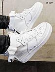 Мужские кроссовки Nike SF Air Force 1 Mid (белые), фото 3