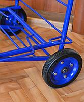 Диаметр 15 см. Запасные цельнометаллические колеса с подшипником для кравчучки (тележки)