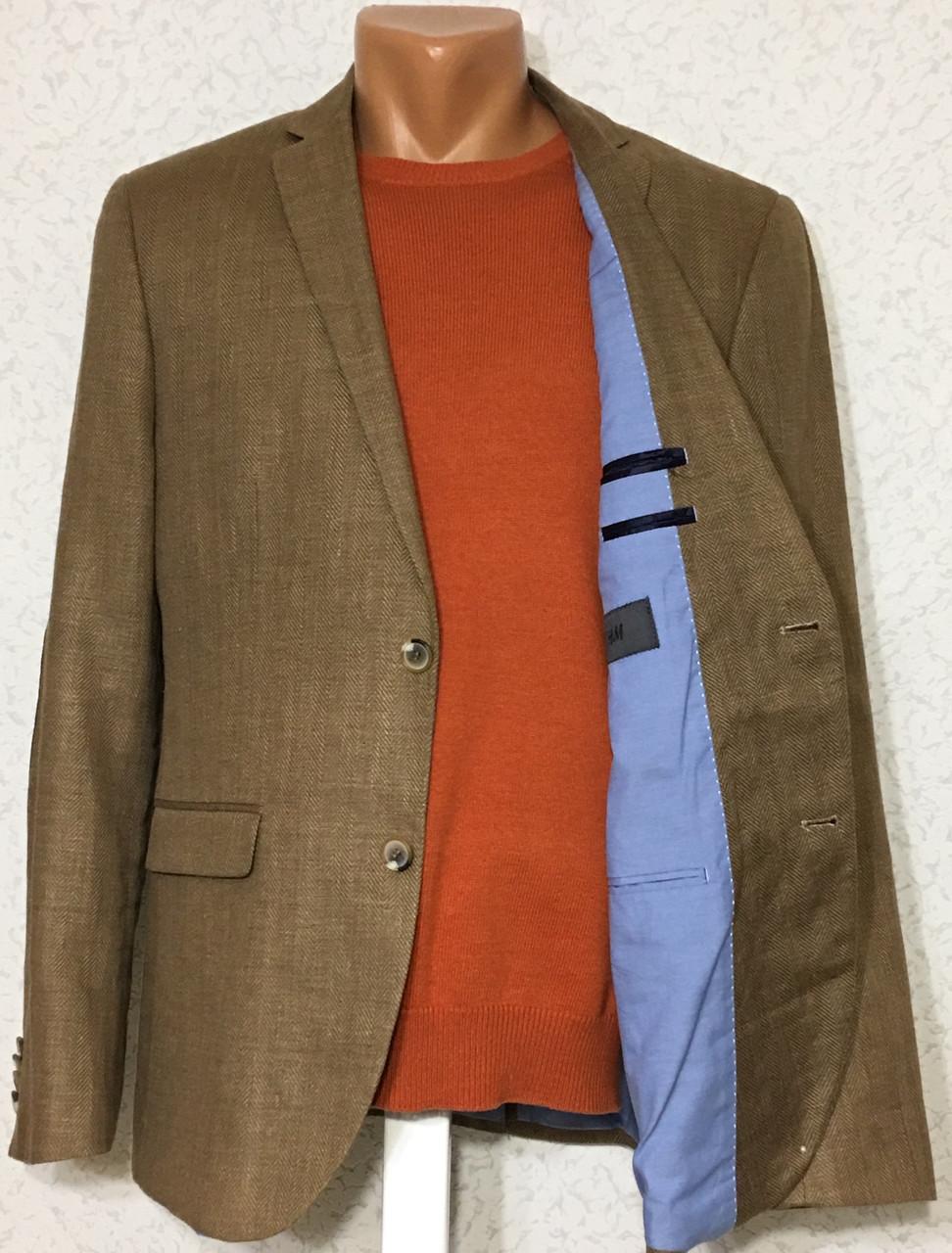 Пиджак льняной H&M (48-50)