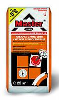 MASTER Super, клей для пенопласта и минваты, 25 кг