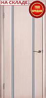 Межкомнатные двери WoodOK™ Модель Глазго 2 ПО беленый дуб