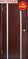 Межкомнатные двери WoodOK™ Модель Глазго 2 ПО венге