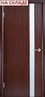 Межкомнатные двери WoodOK™ Модель Глазго 1 ПО венге, беленый дуб