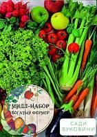 Мидл-набор овощей 'Урожайный год' 'Богатый фермер' (в коробке) ТМ 'Весна' 30уп