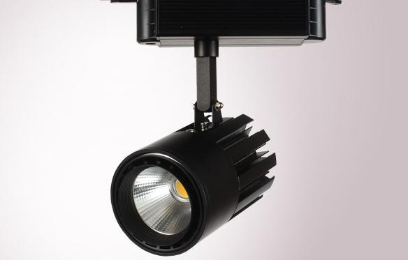 Трэковый светодиодный светильник 50Вт 6000К Черный