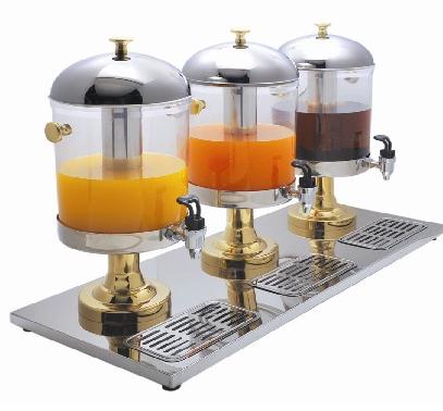Диспенсер для холодних напоїв EWT INOX J18 /3х6л