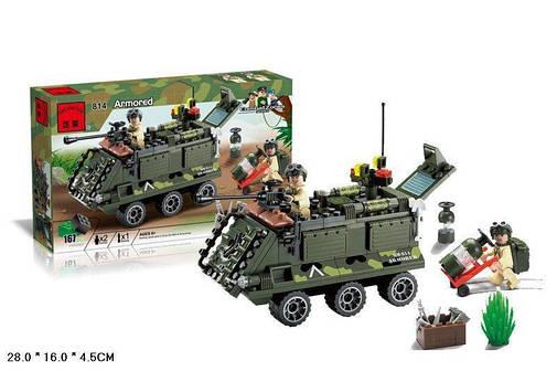Конструктор BRICK 814 броневик, фото 2