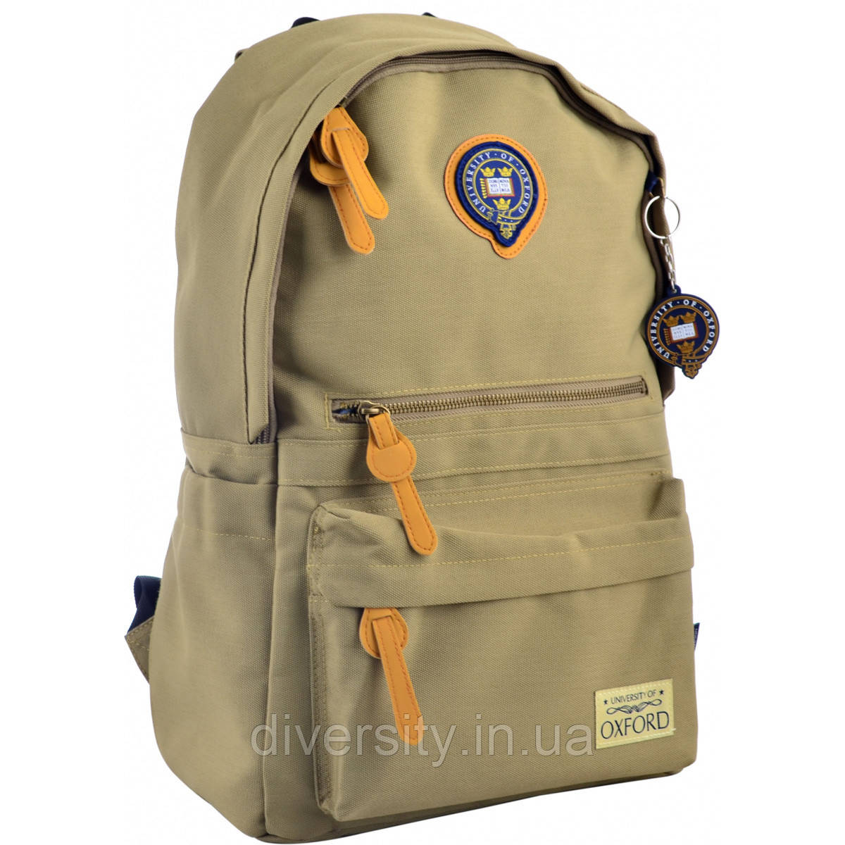 Молодежный рюкзак YES  OX 402,  хаки