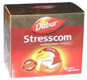 Стресском Ашвагандха Дабур ( Stresscom, Аshvagandha Dabur ) 10 капсул