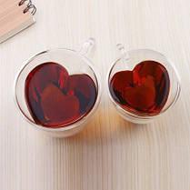 Стакан с двойными стенками Сердце