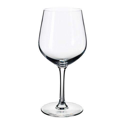 """""""IKEA"""" ИВРИГ Бокал для красного вина, прозрачное стекло"""