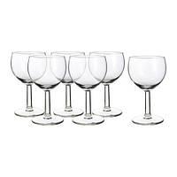 """IKEA"" FÖRSIKTIGT Набор бокалов для вина, 6 шт."