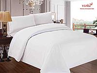 Пошив постельного белья из ткани: сатин, белый, однотонный