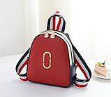 Стильный женский мини рюкзак, фото 5