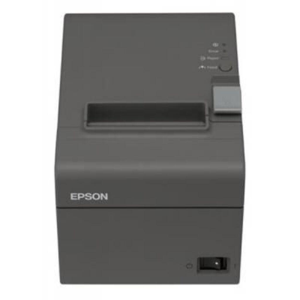 Принтер чеков EPSON TM-T20II RS-232/USB I/F (Dark Grey)+PS (C31CD52002)
