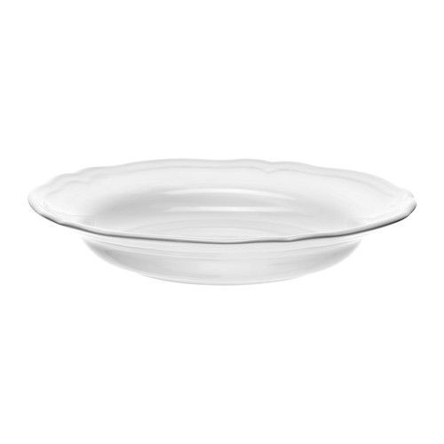 "IKEA ""ARV"" Тарелка глубокая, белый, 26 см"