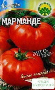 Томат 'Марманде' ТМ 'Весна' 0.1г