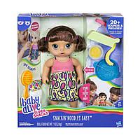 Говорящая Интерактивная Кукла Baby Alive Super Snacks Snackin' Noodles Hasbro C0964