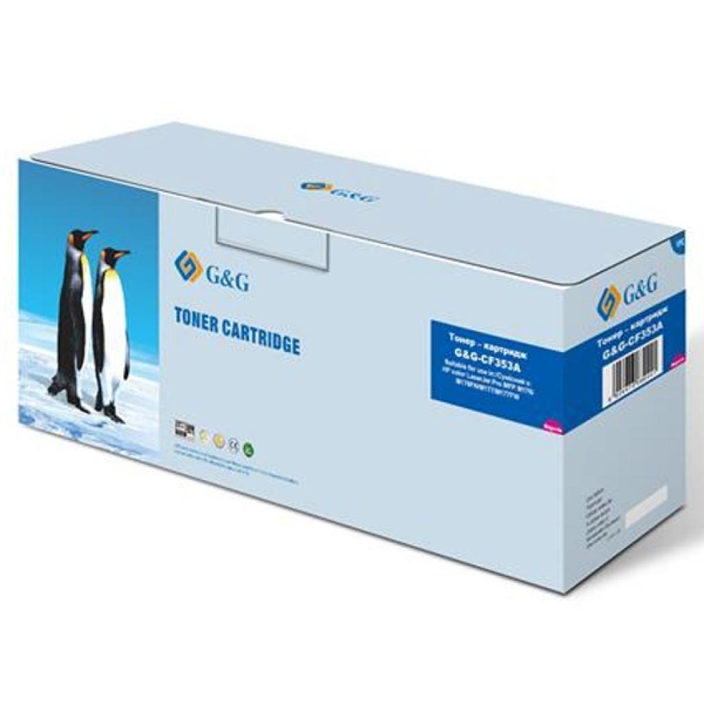 Картридж G&G для HP Color LJ M176/M176FN/M177/ M177FW Magenta (G&G-CF353A)