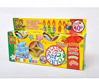 Набор для лепки Праздничный, 8 цветов, SES