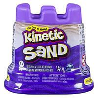 Кинетический песок Мини Крепость, 141 г., KINETIC SAND (фиолетовый)