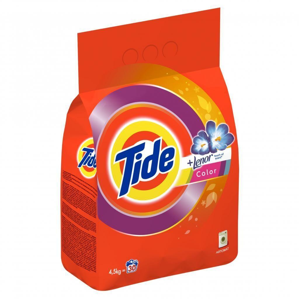 Стиральный порошок Tide Color Lenor Touch of Scent 4,5 кг (5413149871434)