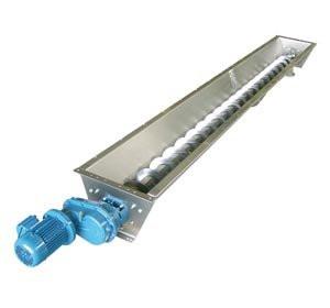 Шнековый транспортер для муки установка элеватора в тепловом узле