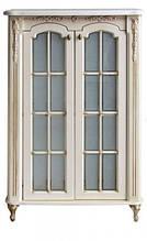 Пенал Атол Бісмарк 85 дорато (патина золото), стільниця мармур, 874х416х1410 мм