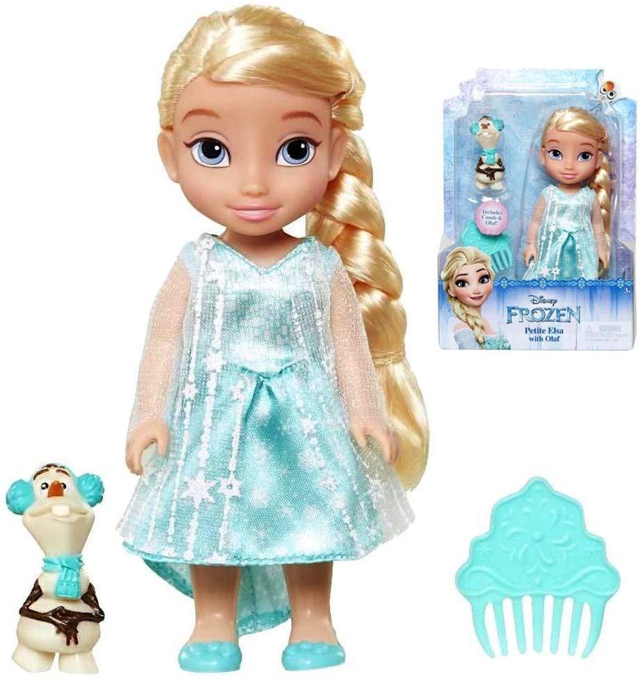 Маленькая кукла Эльза с Олафом и расческой Disney Frozen Petite Elsa Doll with Olaf