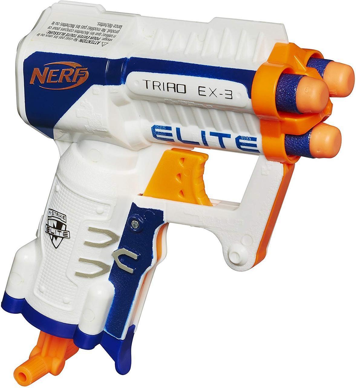 Бластер Нерф Элит Триад  Nerf N-Strike Elite Triad EX-3