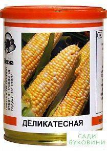 Кукуруза 'Деликатесная' (в банке) ТМ 'Весна' 100г
