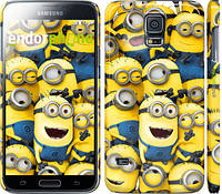 "Чехол на Samsung Galaxy S5 Duos SM G900FD Миньоны 8 ""860c-62"""