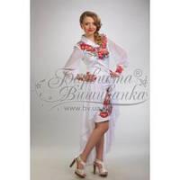 Бисерная заготовка платья ПЛ-054