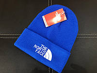 Шапка The North Face shovel blue