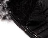 Зимний конверт Bair Polar premium  черный - серебро кожа, фото 6